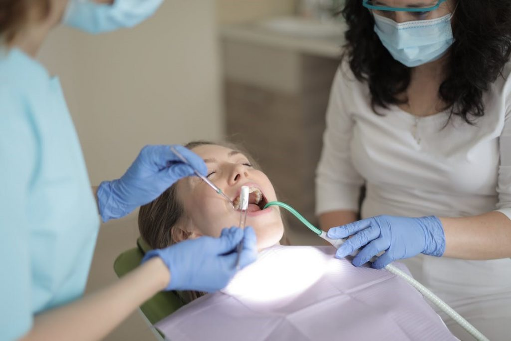 Sedated dental treatment done in West Hills.